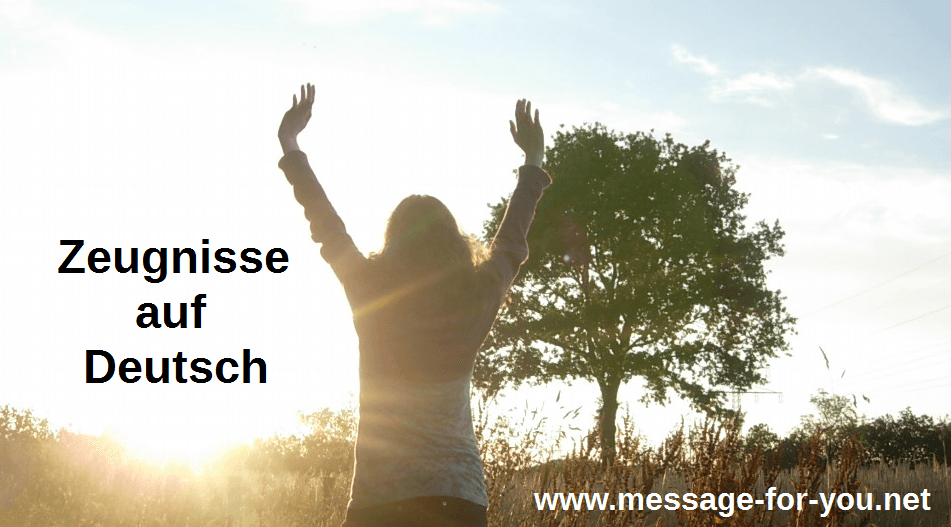 Worship God Testimonies German MFY