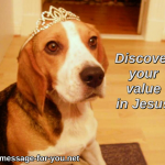 Beagle Dog Discover your value in Jesus