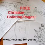 FREE Christian Coloring Pages MFY