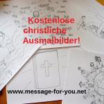 Kostenlose Christliche Ausmalbilder MFY