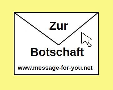 Briefumschlag mit Text zur Botschaft und Link zur Sprachen-Übersicht Übersetzungen