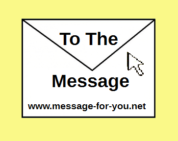 Envelope with Text To the Message and Link to the Language Overview Translations