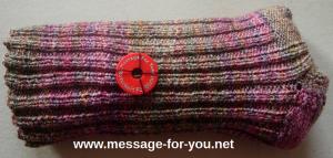 MFY-Einkaufswagenchip-Knopf auf Socken