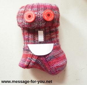MFY-Einkaufswagenchip-Sockenmonster