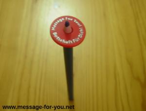 MFY-Einkaufswagenchip an einem Stift