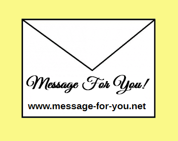 Logo of Message for you!