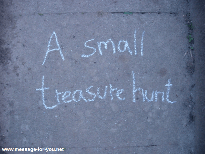 Small Virtual Treasure Hunt